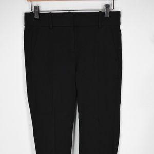 J Crew Petite Cameron slim crop pants 4P black